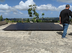 Sail Relief Team - Hurricane Maria - Solar - Utuado