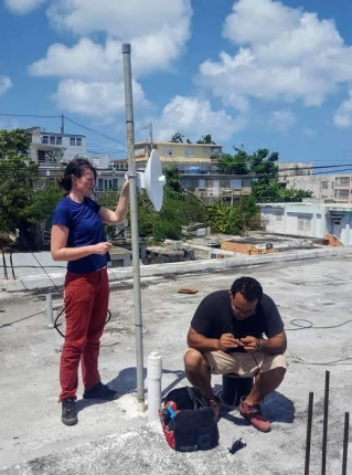 Sail Relief Team - Hurricane Maria - WiFi for schools