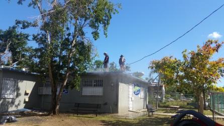 Sail Relief Team - Hurricane Maria - Vieques en Rescate, Paint Job