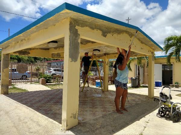 Sail Relief Team - Hurricane Maria - Senior Center